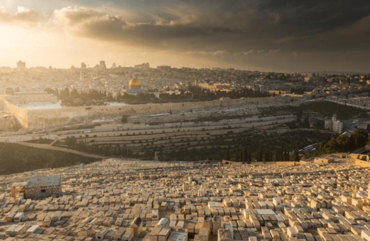 Масленичная гора в Иерусалиме