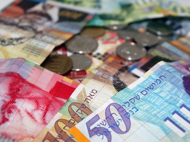 Обмен валюты в Израиле