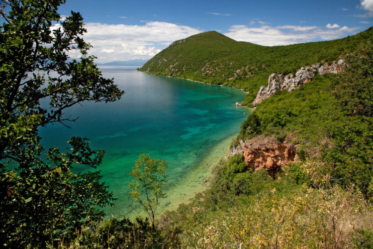 Охридское озеро - достопримечательности Македонии