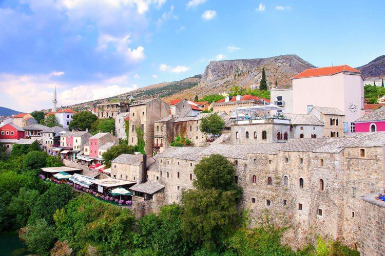 Старый город Мостар - достопримечательности Боснии и Герцеговины