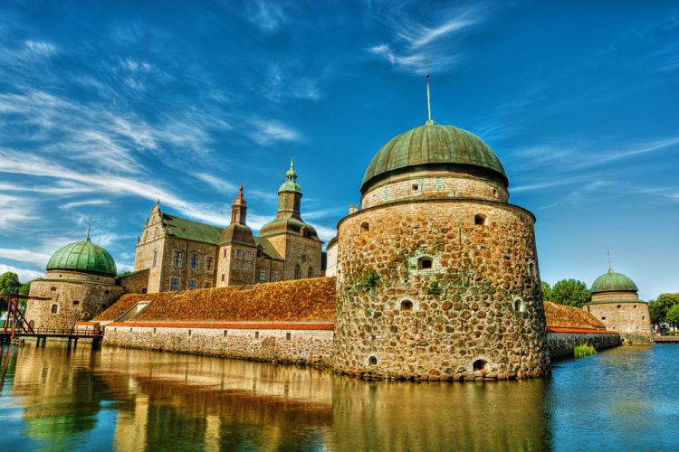 Вадстенский замок - достопримечательности Швеции