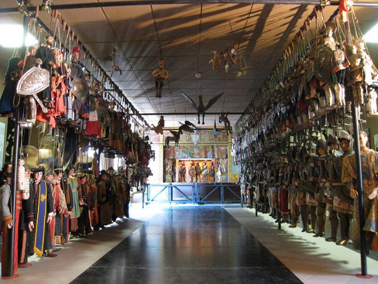 Музей Марионеток - достопримечательности Палермо