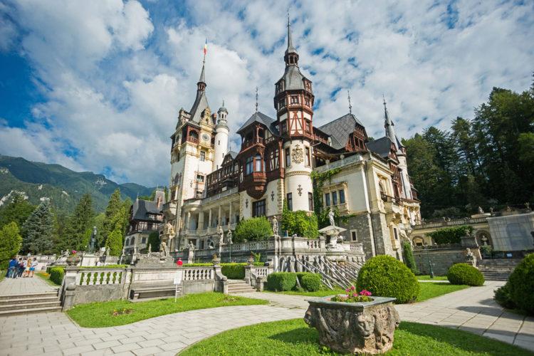 Замок Пелеш - достопримечательности Румынии