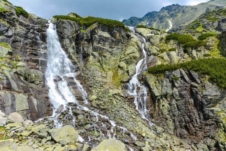 Водопад Скок - достопримечательности Словакии