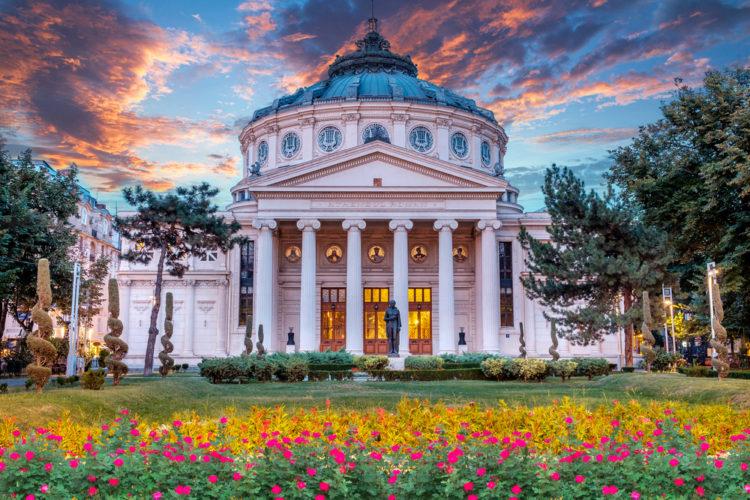 Румынский Атенеум - достопримечательности Румынии