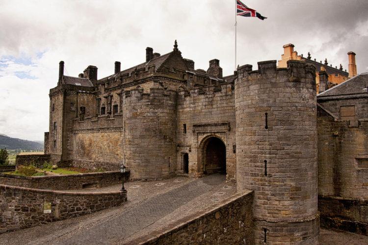 Замок Стерлинг - достопримечательности Шотландии