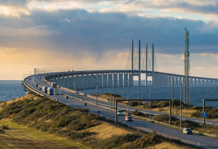 Эресуннский мост-тоннель - достопримечательности Швеции