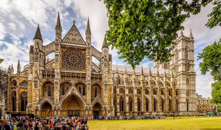 Вестминстерское аббатство - достопримечательности Англии