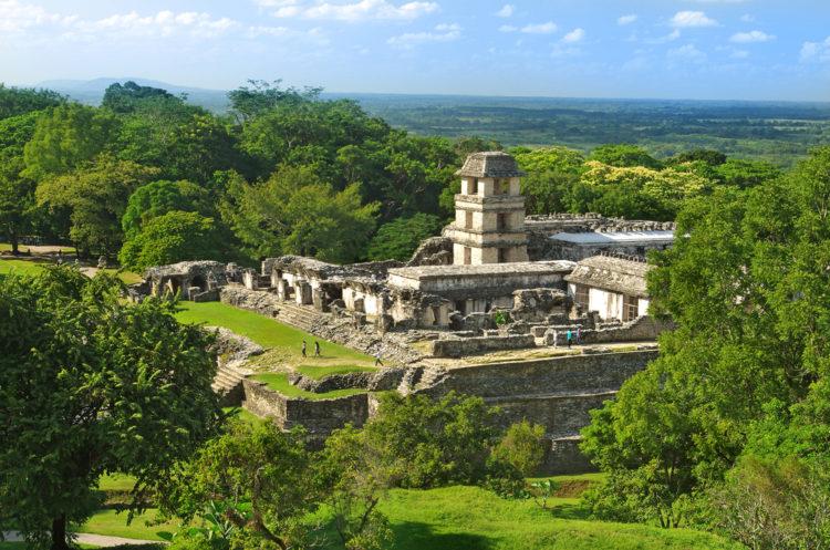 Паленке - достопримечательности Мексики