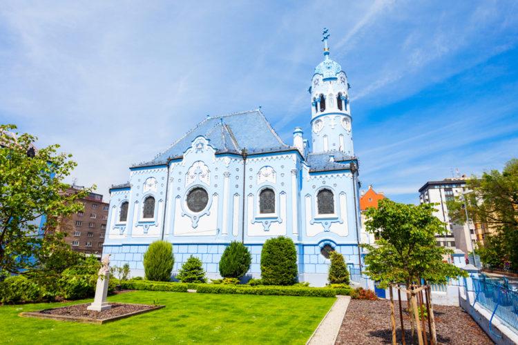 Церковь Святой Елизаветы - достопримечательности Словакии