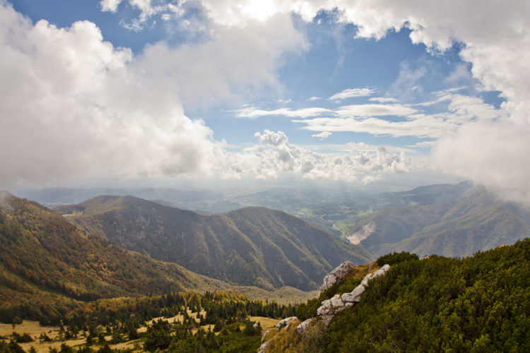 Известняковое плато Крас - достопримечательности Словении
