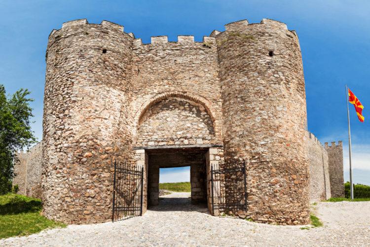 Крепость царя Самуила - достопримечательности Македонии