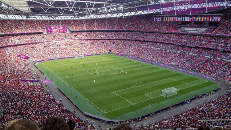 Стадион Уэмбли - достопримечательности Англии