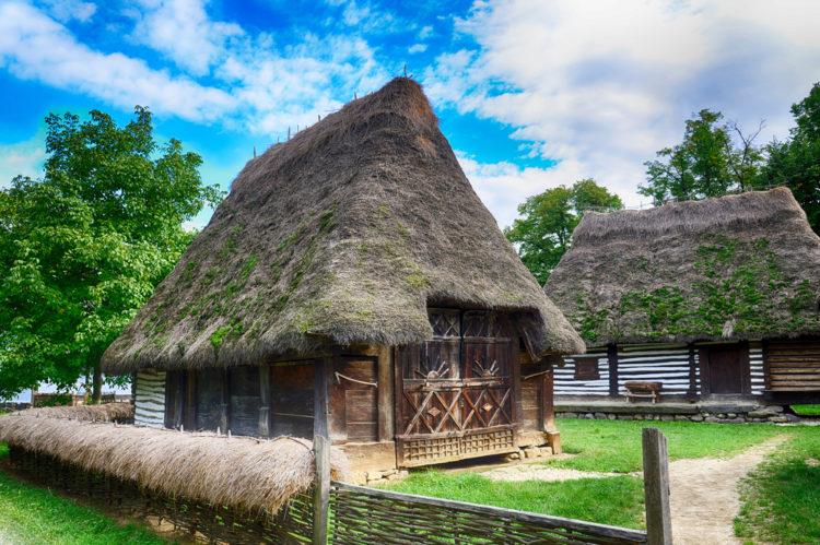 Деревенский музей в Бухаресте - достопримечательности Румынии