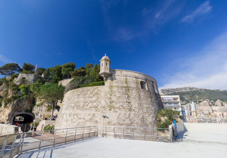 Форт Антуан - достопримечательности Монако