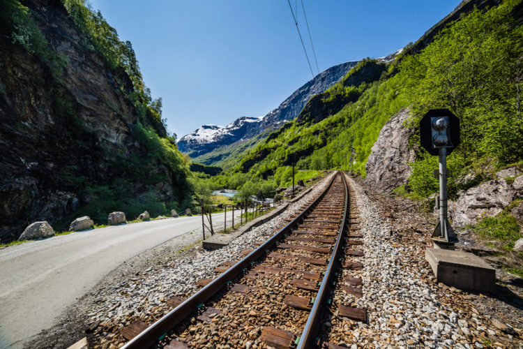 Фломская железная дорога - достопримечательности Норвегии