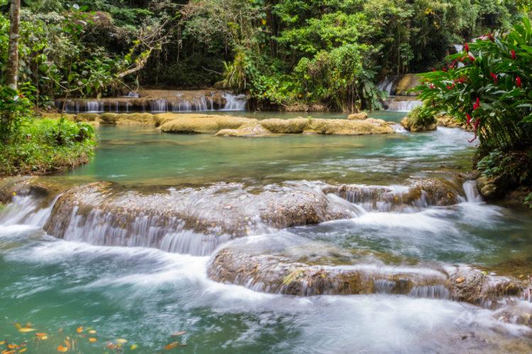 Водопад Вайс (YS Falls) - достопримечательности Ямайки