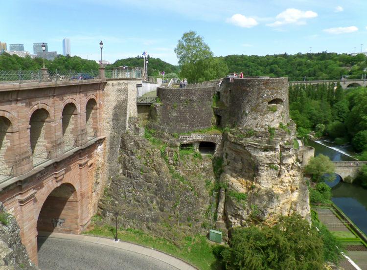 Казематы Бок - достопримечательности Люксембурга