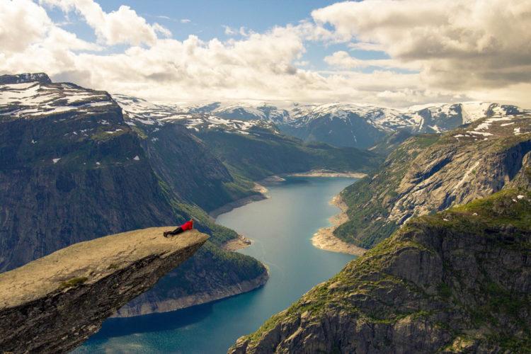 Язык Тролля - достопримечательности Норвегии