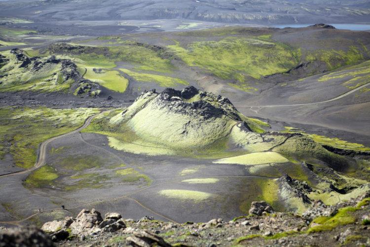 Вулкан Лаки - достопримечательности Исландии