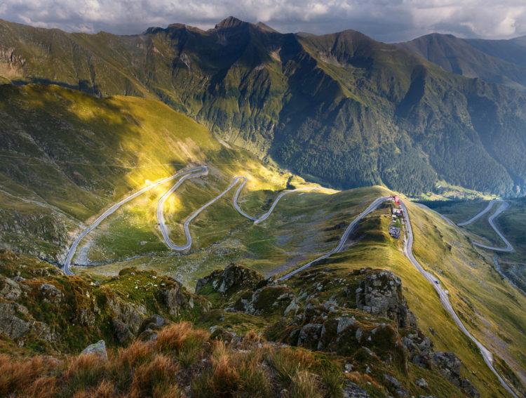 Трансфэгэрашское шоссе - достопримечательности Румынии
