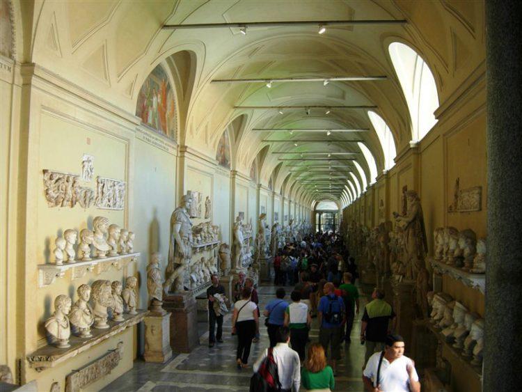 Музей Кьярамонти - достопримечательности Ватикана