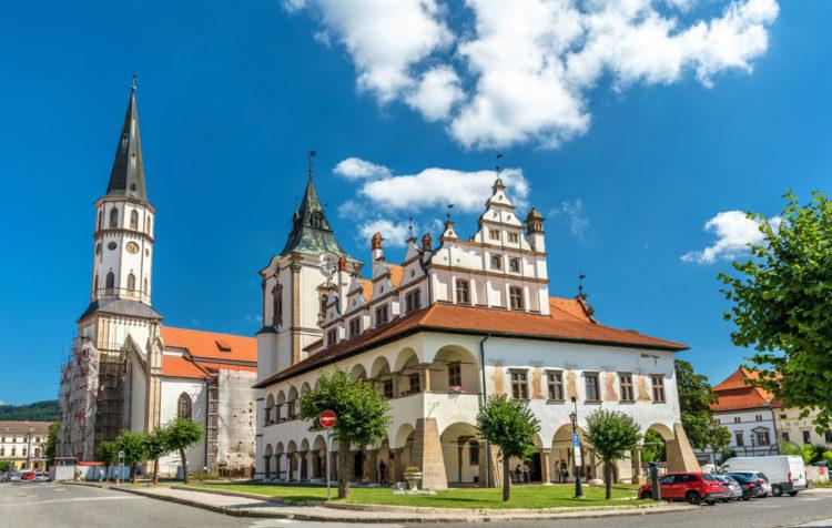 Город Левоча - достопримечательности Словакии