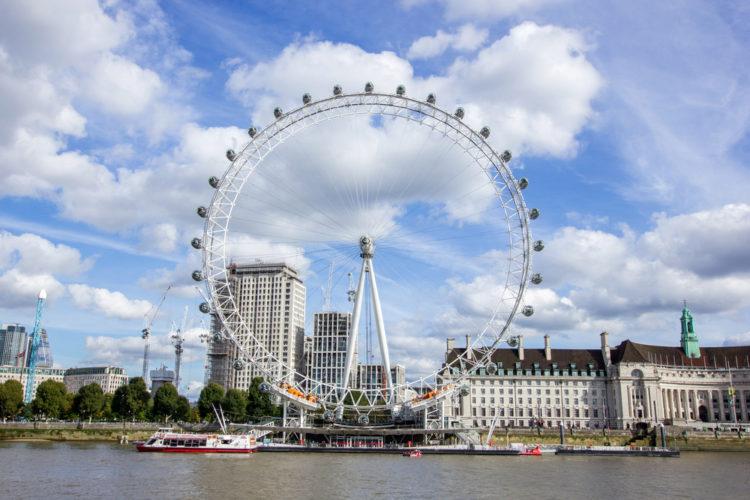 Лондонский глаз - Что посмотреть в Англии