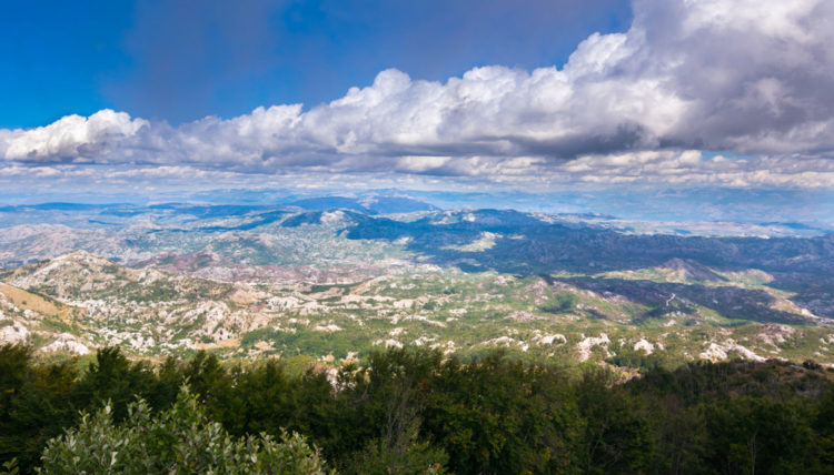 Гора и парк Ловчен - достопримечательности Черногории