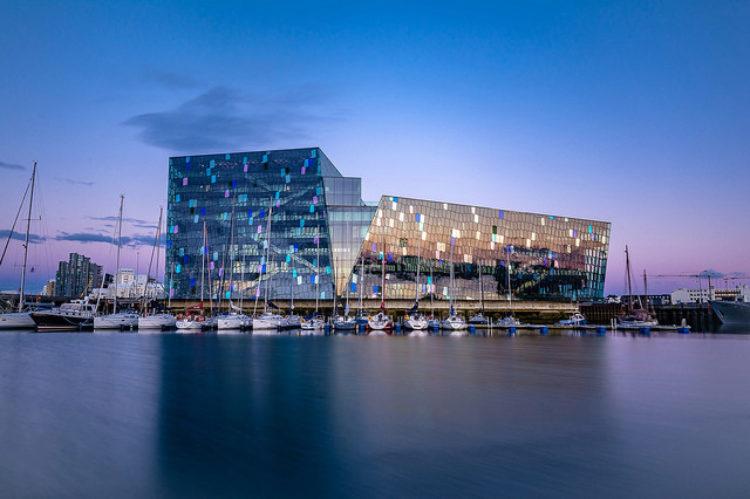 Что посмотреть в Исландии - Концертный зал Харпа