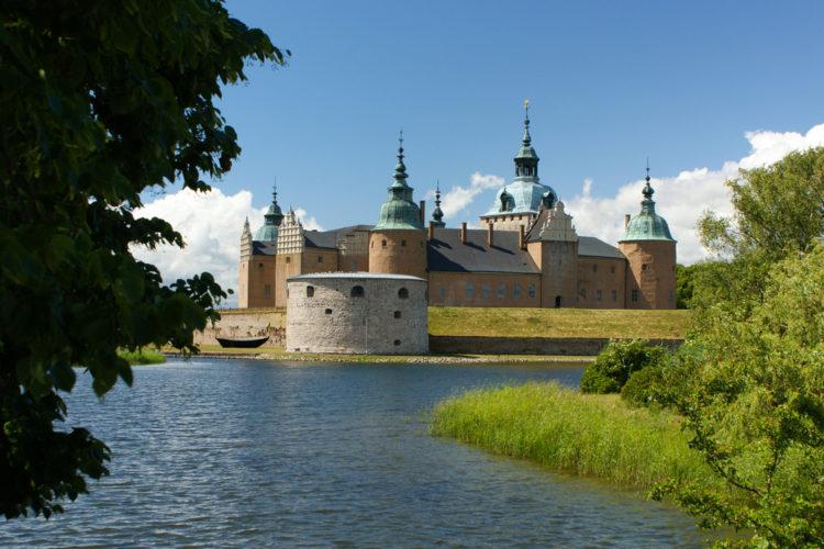 Замок Кальмар - достопримечательности Швеции