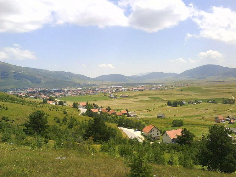 Город Купрес - достопримечательности Боснии и Герцеговины