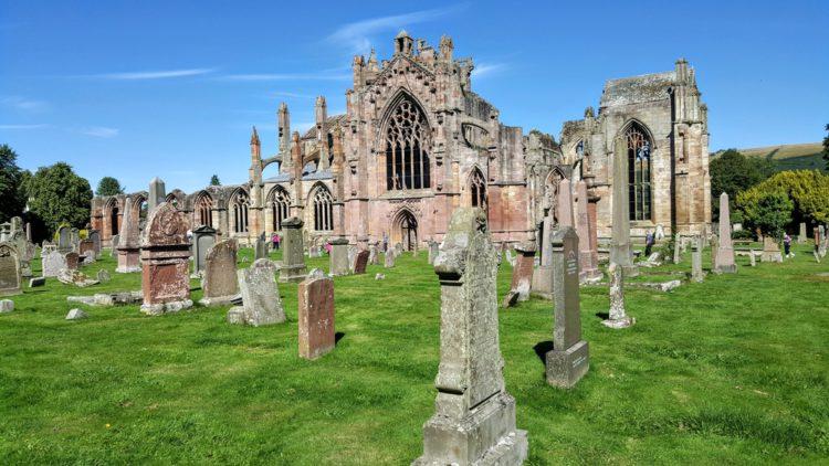 Аббатство Мелроуз - достопримечательности Шотландии