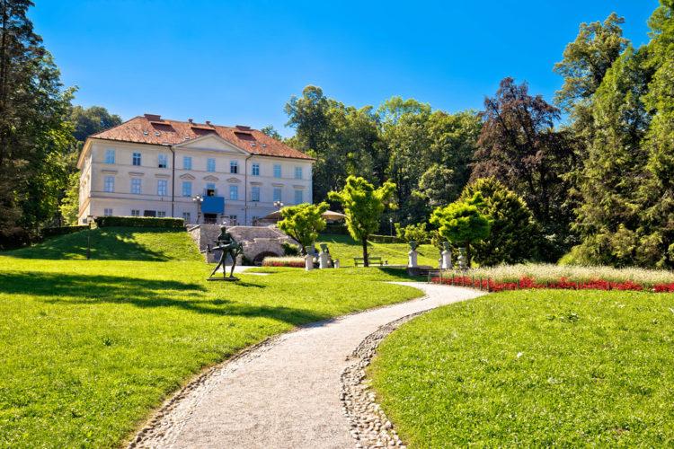 Парк Тиволи в Любляне - Что посмотреть в Словении