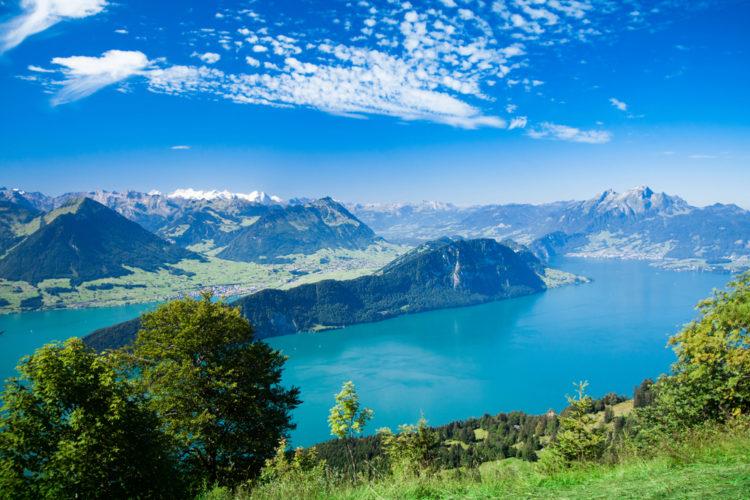 Фирвальдштетское озеро - достопримечательности Швейцарии