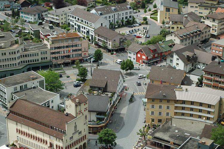 Улица Штэдле - достопримечательности Лихтенштейна