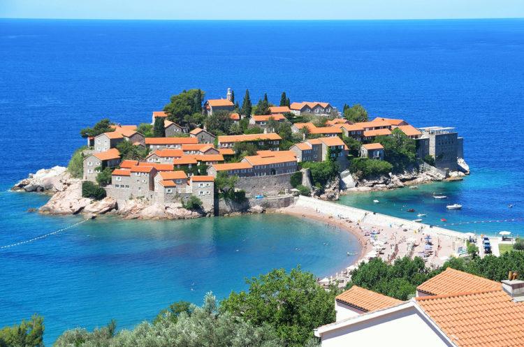 Свети-Стефан - достопримечательности Черногории
