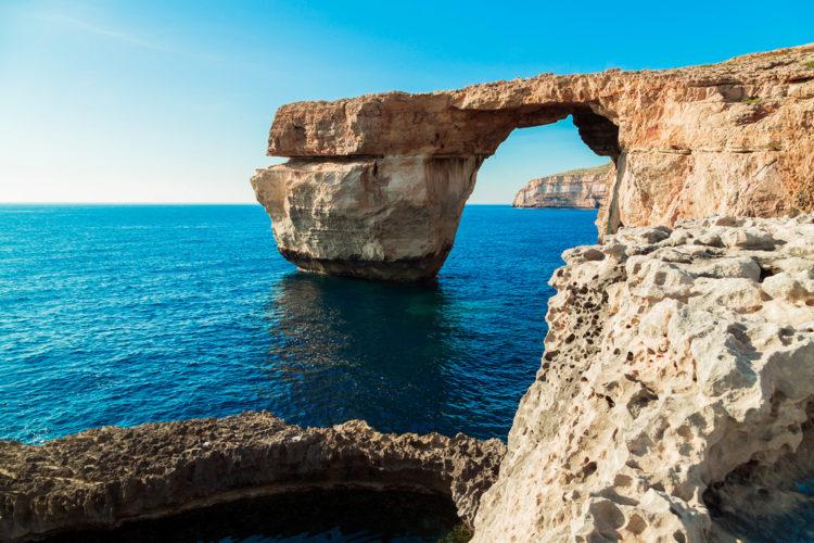 Лазурное окно - достопримечательности Мальты