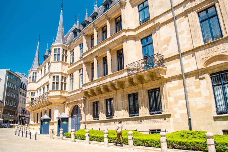 Дворец Великих герцогов - достопримечательности Люксембурга