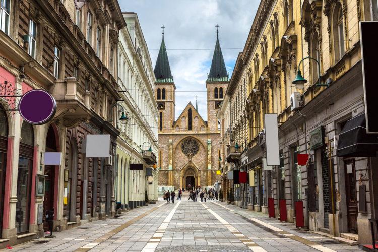 Собор Святого Сердца Иисуса - достопримечательности Боснии и Герцеговины