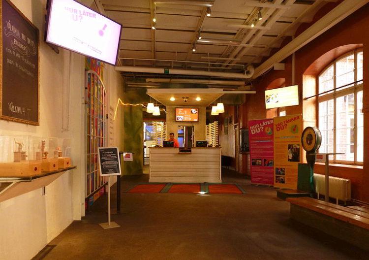Музей экспериментов Тома Тита - достопримечательности Швеции