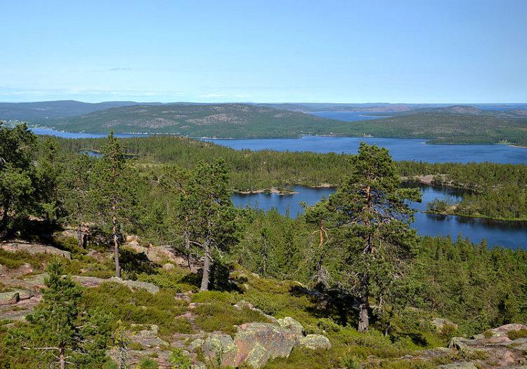 Высокий берег - достопримечательности Швеции