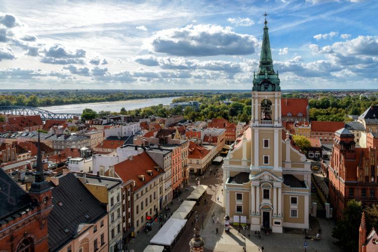 Старый город в Торуне - достопримечательности Польши