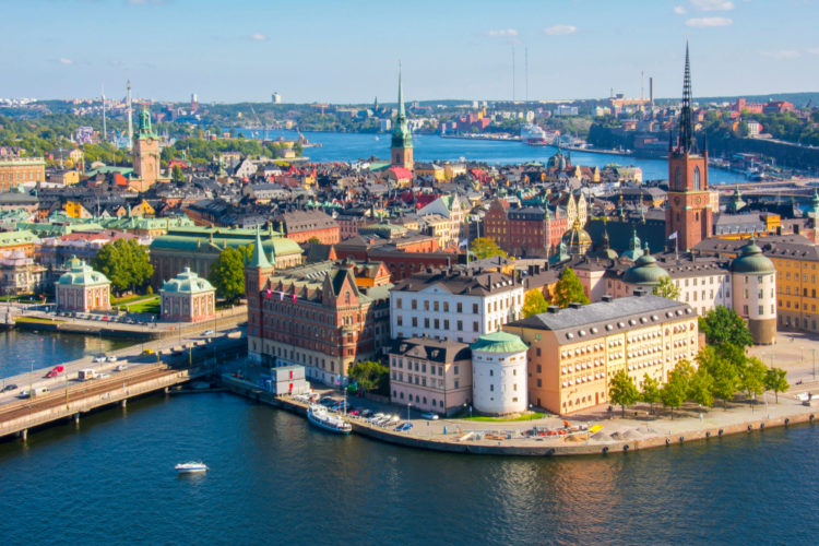 Старый город Гамла Стан - достопримечательности Швеции