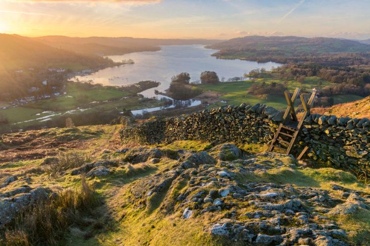 Национальный парк Озерный край - достопримечательности Англии
