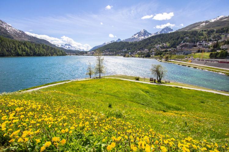 Санкт-Мориц - достопримечательности Швейцарии