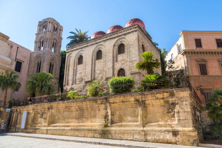 Церкви Марторана и Сан-Катальдо - достопримечательности Палермо