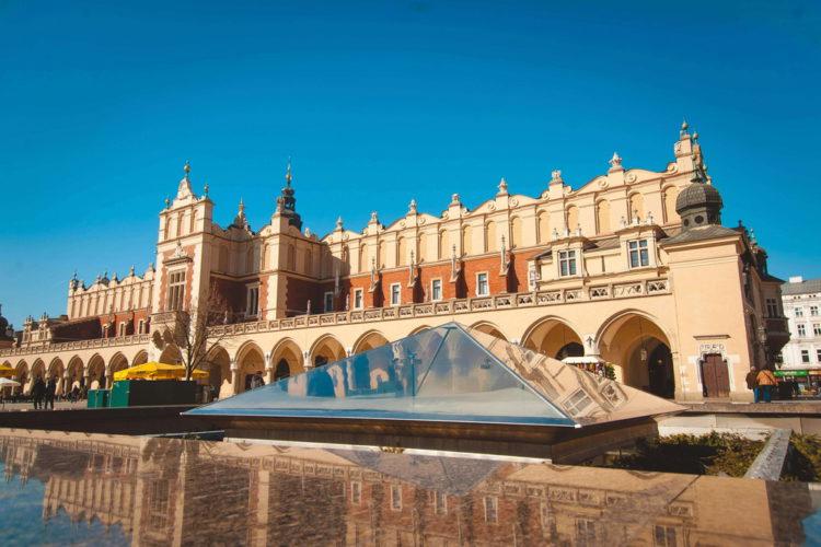 Старый город Кракова - достопримечательности Польши