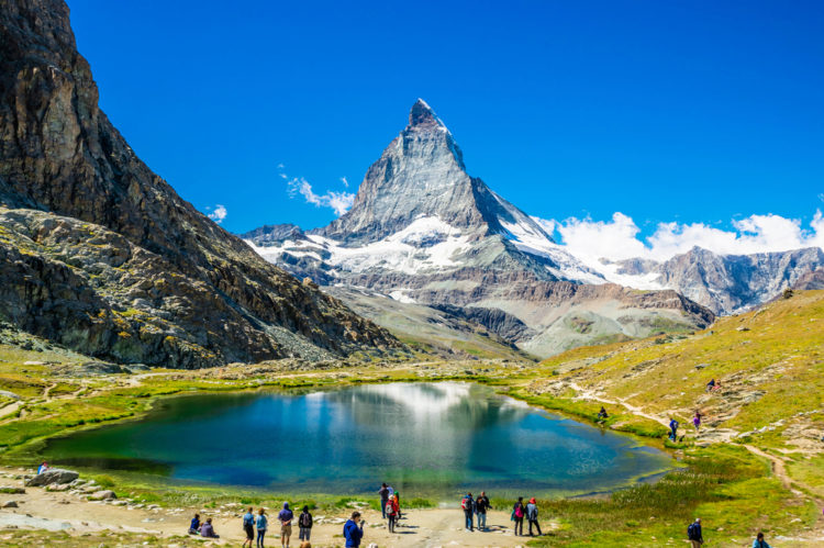 Маттерхорн - достопримечательности Швейцарии