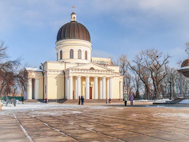 Собор Рождества Христова в Кишинёве - достопримечательности Молдавии